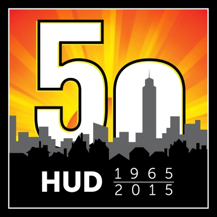 Department of Housing - 50th Anniversary Logo