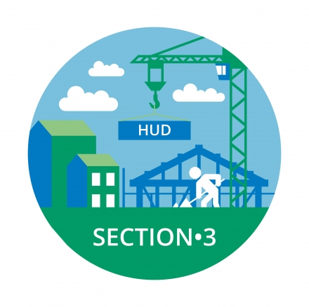 Department of Housing - Section 3 Logo