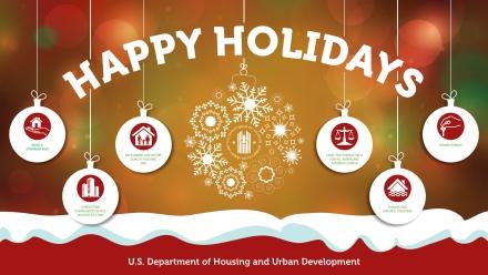 Happy Holidays from HUD