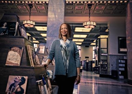 Connie Briscoe Portrait