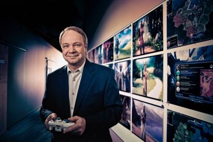 Sid Meier - Firaxis Games Portrait