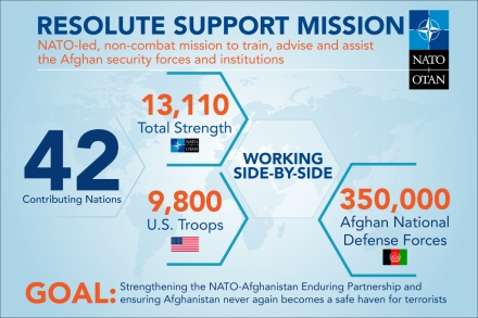 Resolute Support Mission - At A Glance