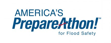America's PrepareAthon for Flood Safety Logo