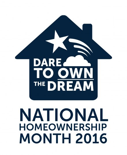 Dare to Own the Dream (Homeownership) Logo