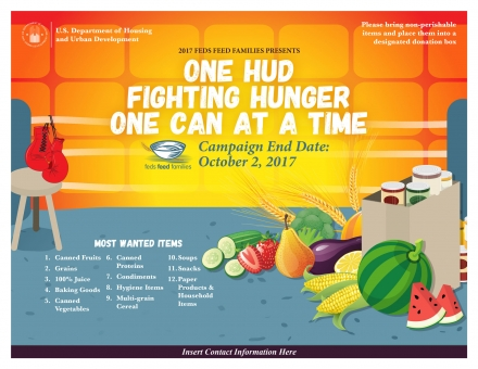 Fighting Hunger - Feds Feed Families Promo