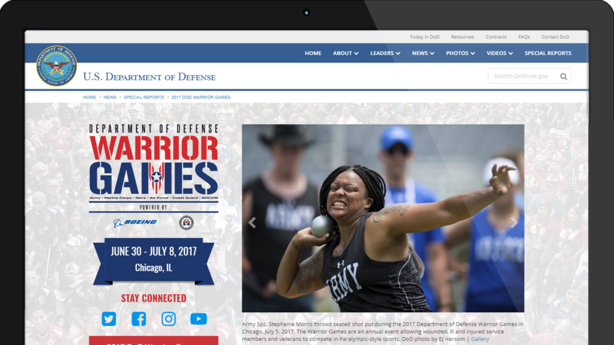 Warrior Games 2017 – Special Report