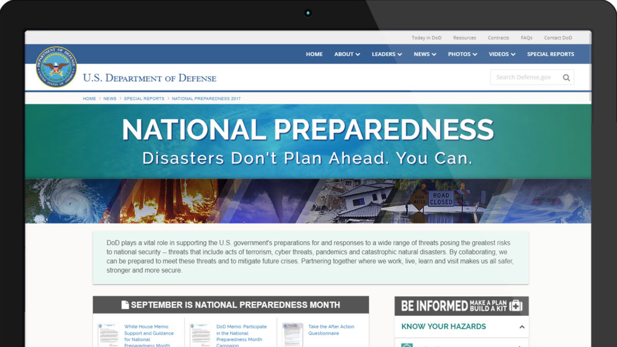 National Preparedness – Special Report