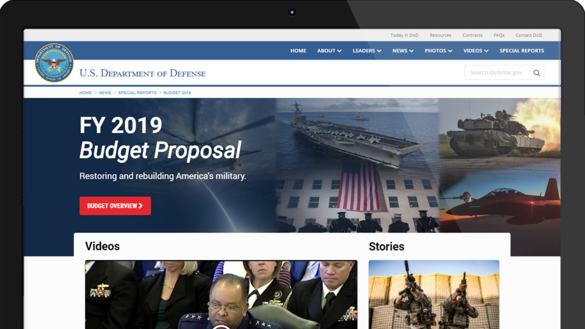 FY 2019 Budget Proposal – Special Report