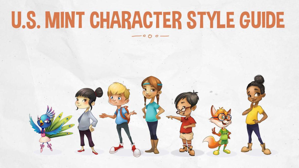 U.S. Mint Characters Guide