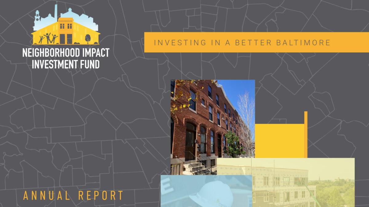 Neighborhood Impact Investment Fund (NIIF) – 2020 Annual Report